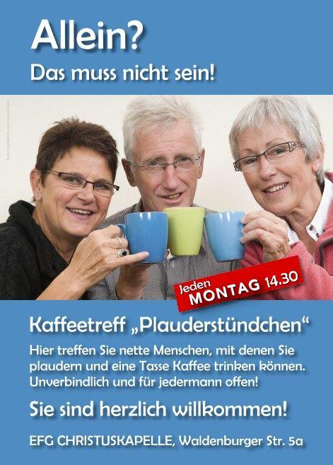 Kaffeetreff Plauderstündchen