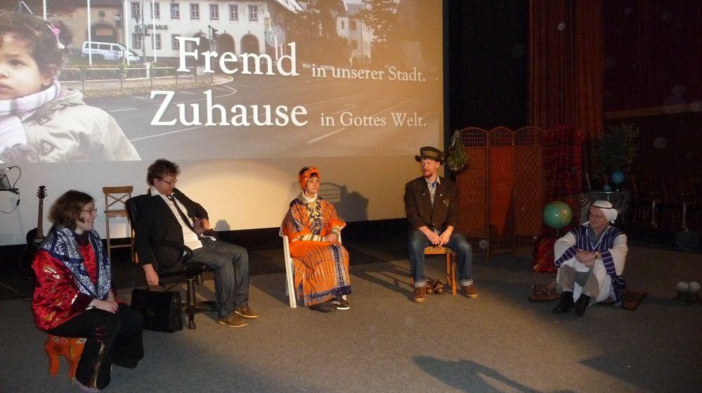 """GOTT im Kino: """"Fremd in unserer Stadt - Zuhause in Gottes Welt"""""""