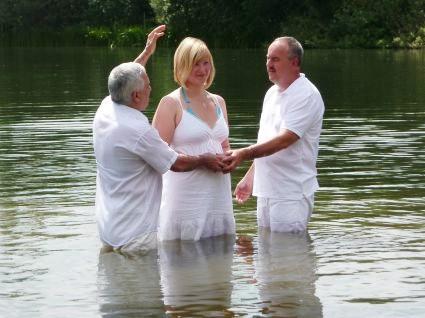 Taufe von Nicole